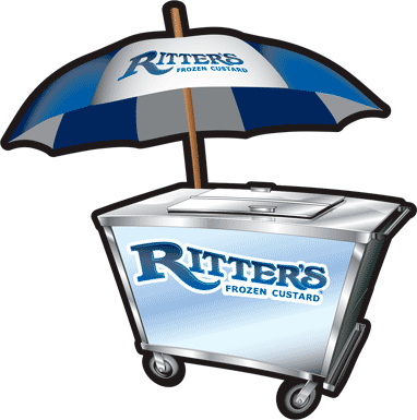 Ritters Catering Cart Illustration