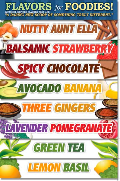 Ritters Flavors for Foodies Flavor Slats