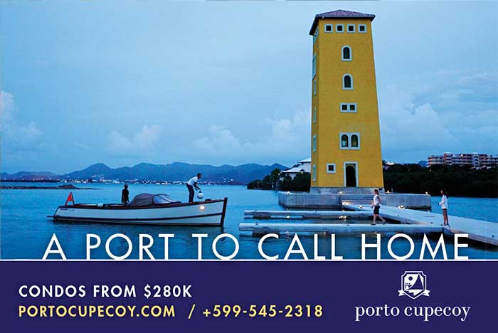 Porto Cupecoy Billboard