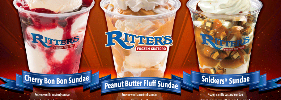 Ritters Frozen Custard Marketing
